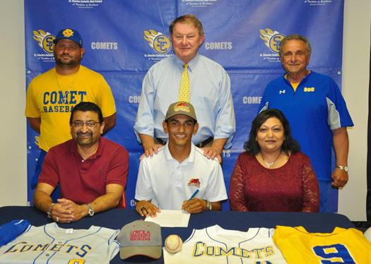 Aakash Patel Signs With Loyola