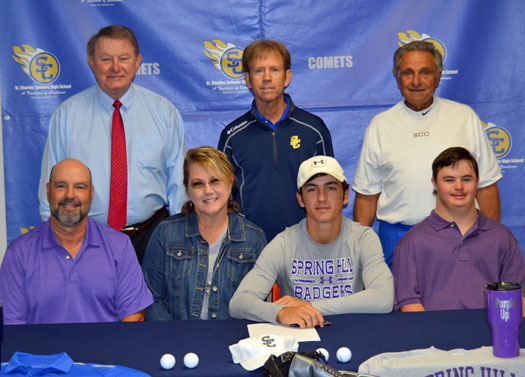 Landry Signs With Spring Hill College