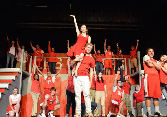"Stagehands Present "" High School Musical"""