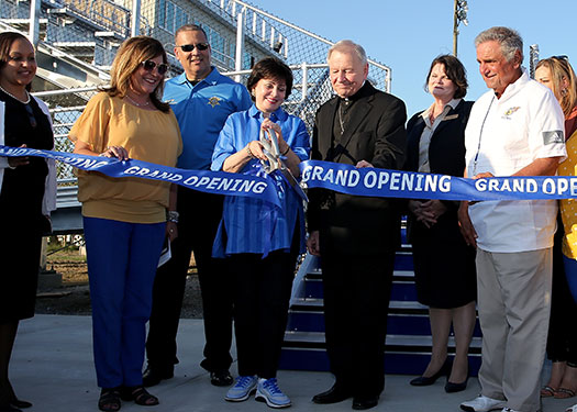 New Stadium Ribbon Cutting